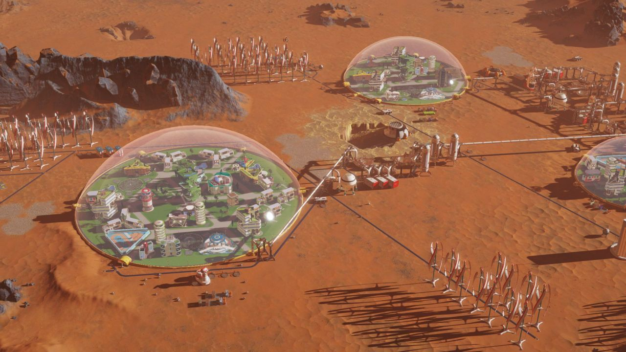 《火星求生(Surviving Mars)》上線Steam 在火星模擬建造自己的城市